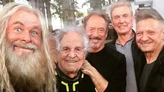 Endgame Avengers stars with the FaceApp filter.