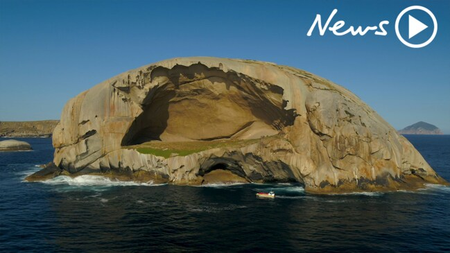 Inside Australia's mysterious Skull Rock