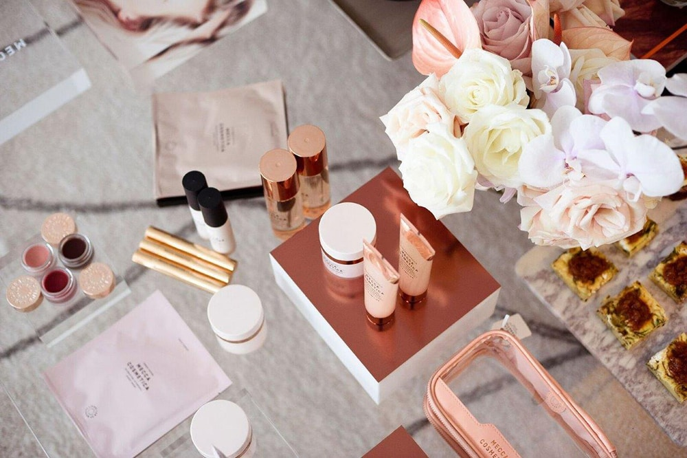 Mecca launch styled by Ainslie Curran. Image credit: supplied