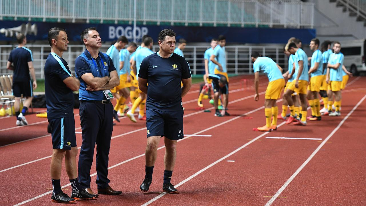Ante Milicic is coaching the Young Socceroos. Photo: Asian Football Confederation
