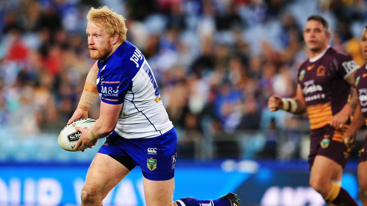 James Graham during his time with the Bulldogs