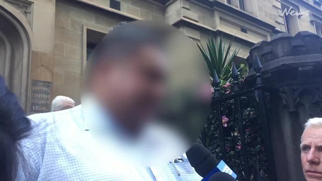 Uncle of murdered toddler speaks outside court