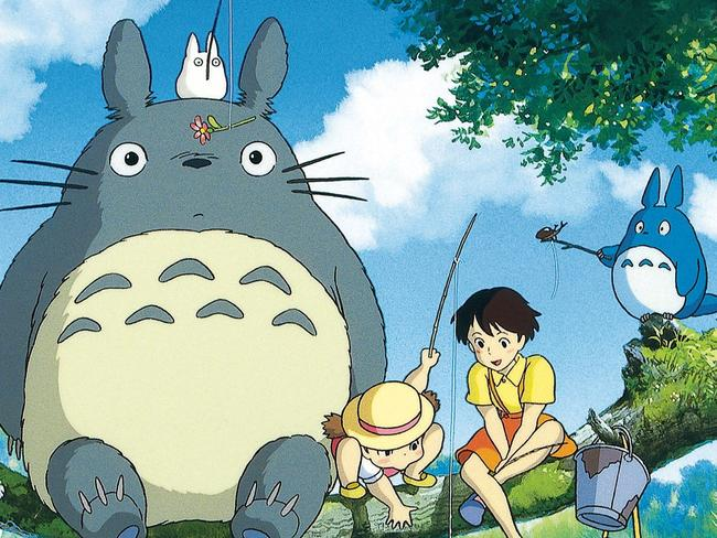 No more Totoro: A scene from the film My Neighbor Totoro.