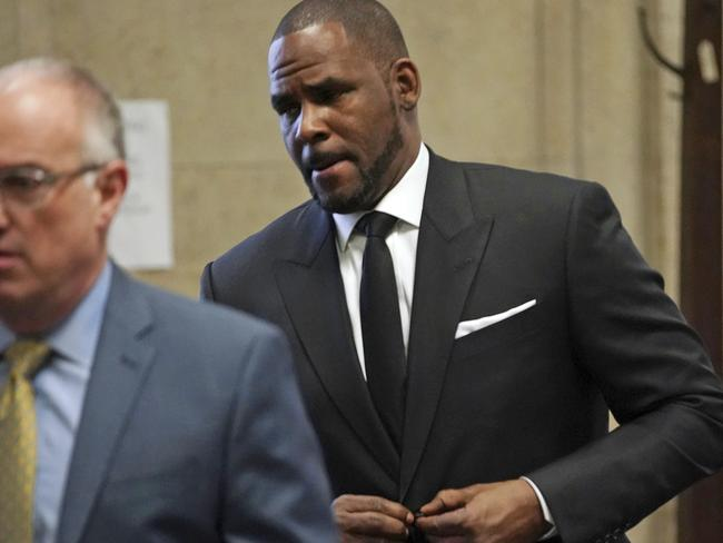 R&B singer R. Kelly wants to perform next month in Dubai but the sheikdom has denied any concerts were organised. Picture: E. Jason Wambsgans/Chicago Tribune Via AP, Pool