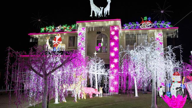 Residents on the Gold Coast have turned on their Christmas light displays.  52 forest Oak drive Upper Coomera. Photo: Jerad Williams - Full List Of Gold Coast Christmas Lights 2016 Gold Coast Bulletin