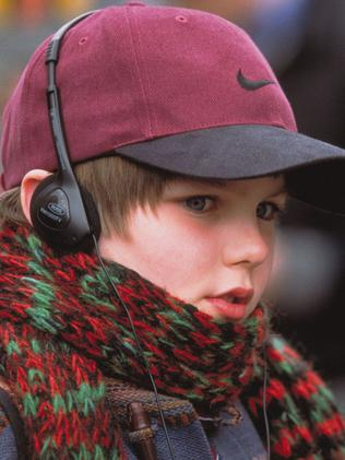 Nicholas Hoult in the 2002 film About A Boy. Picture: Supplied