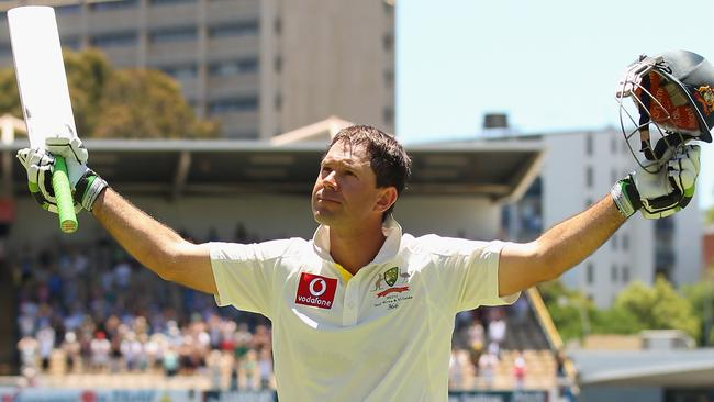 Ricky Ponting: When I had a bat I knew I was safe.