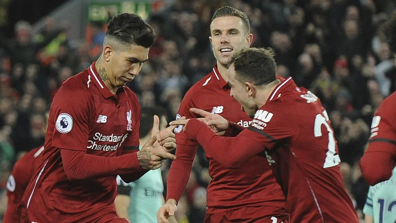 776b8cda96f Liverpool are looking stringer than ever following their 5-1 thrashing of  Arsenal.