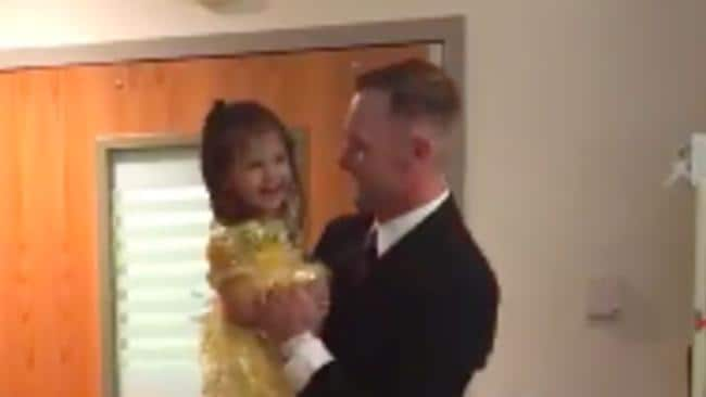 Dad Shares a Special Dance With His 2-Year-Old Daughter on Her Last Day of Chemotherapy