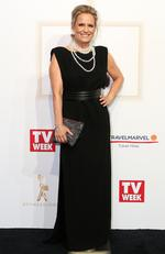 Shaynna Blaze arrives on the red carpet at the 59th annual TV Week Logie Awards on April 23, 2017 at the Crown Casino in Melbourne, Australia. Picture: Julie Kiriacoudis