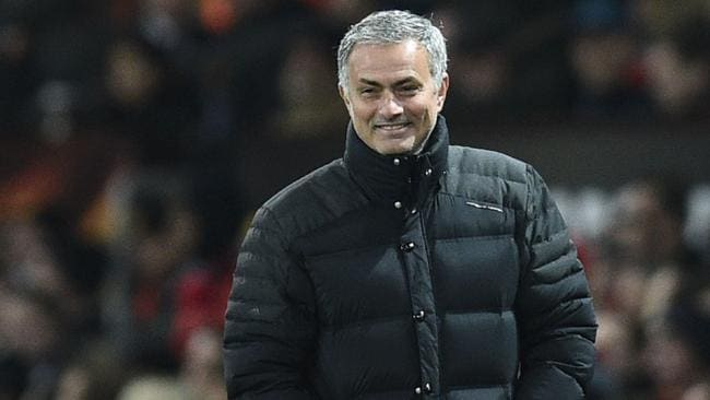 Manchester United's Portuguese manager Jose Mourinho.