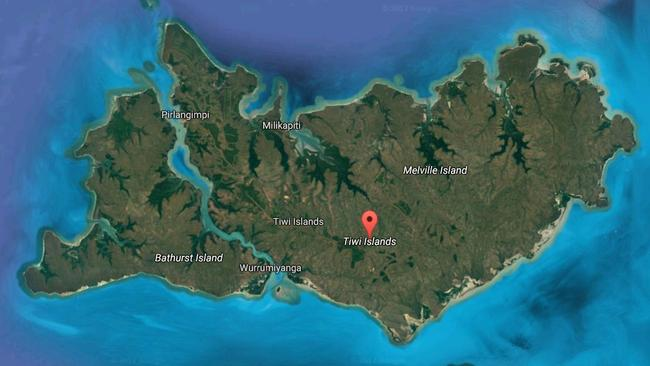 The Tiwi Islands in the Northern Territory is made up of two islands: Bathurst and Melville.