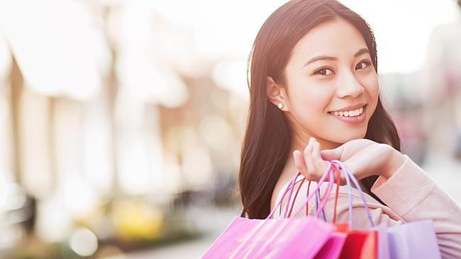 Into the future ... technology is changing the way consumers pay for goods.