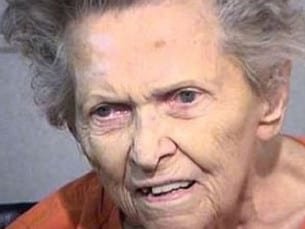 Anna Mae Blessing in her mug shot. Picture: Supplied