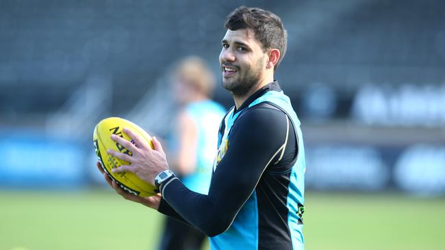 Port Adelaide's Paddy Ryder will return from injury to face Sydney. Picture: Tait Schmaal
