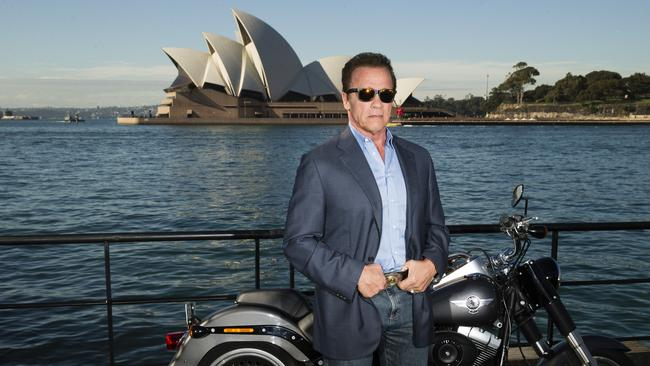 He's back ... Arnold Schwarzenegger has returned to the big screen for the latest chapter in the Terminator series.