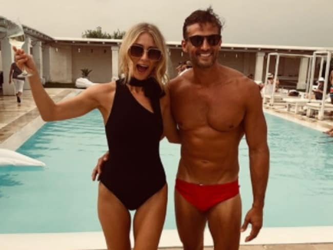 Anna Heinrich and Tim Robards have flaunted their post-wedding celebrations on social media. Picture: Instagram