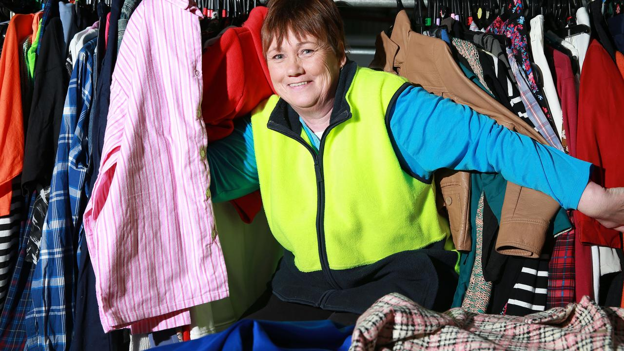 Selling or donating your old clothes is a good way to recycle them. Picture: Peter Ristevski