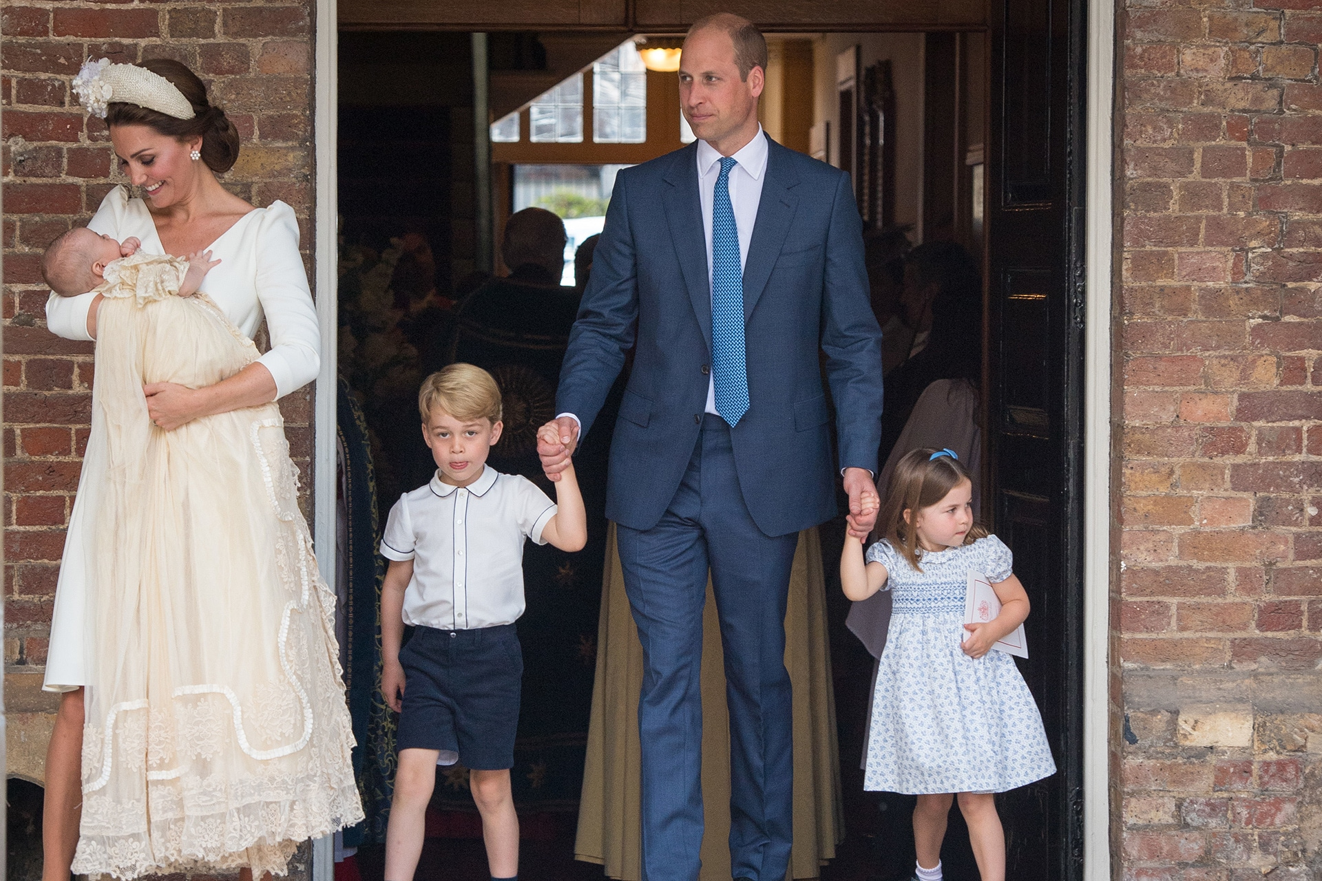 What every royal guest wore to Prince Louis's christening