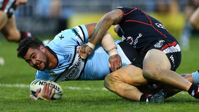Andrew Fifita suffered a broken arm against the Warriors.