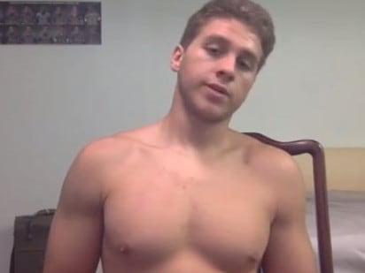 'Cannibal killer' Austin Harrouff, 19, talks bodybuilding before murders. Picture: Supplied