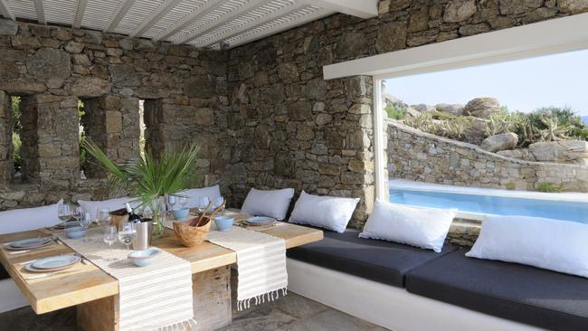 Plenty of room to entertain friends who will come calling if you buy this property. Picture: RE/MAX Way Mykonos.
