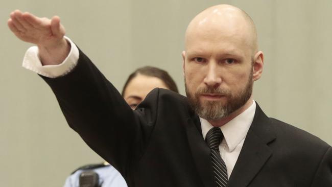 Norwegian mass murderer Anders Behring Breivik says he is ...