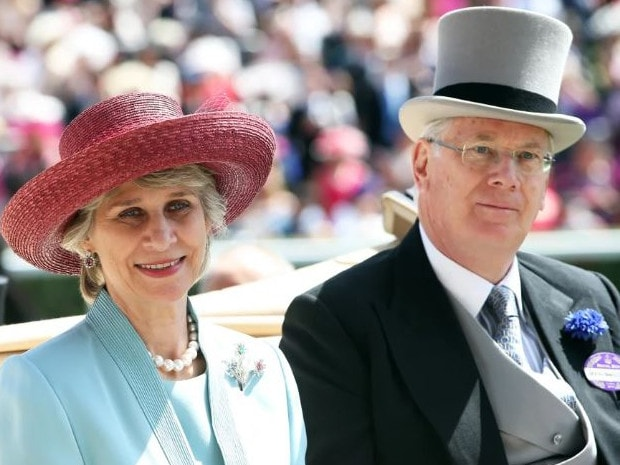 The Queen's cousin, Prince Richard, Duke of Gloucester, and his wife, Birgitte, Duchess of Gloucester. Picture: Supplied