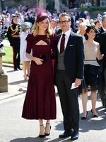 Meghan Markle's friend, US actor Gabriel Macht and wife Jacinda Barrett arrive for the wedding ceremony of Britain's Prince Harry, Duke of Sussex and US actress Meghan Markle at St George's Chapel, Windsor Castle, in Windsor, on May 19, 2018. Credit: AFP PHOTO / POOL / Ian WEST