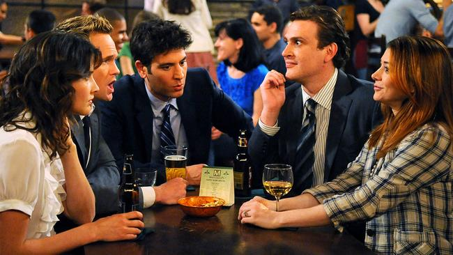 Jason Segel went on to star in the smash hit series How I Met Your Mother. Picture: Ron Jaffe