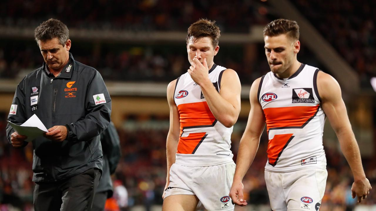 GWS has made a selection statement. Photo: Michael Willson/AFL Media/Getty Images.