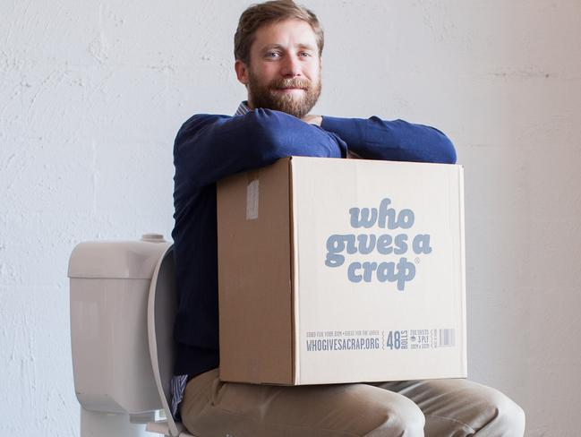 Simon Griffiths is the founder of Who Gives A Crap toilet paper