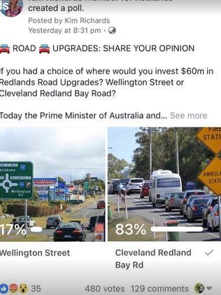 Fix Redlands Coast roads: Cleveland-Redland Bay Rd and