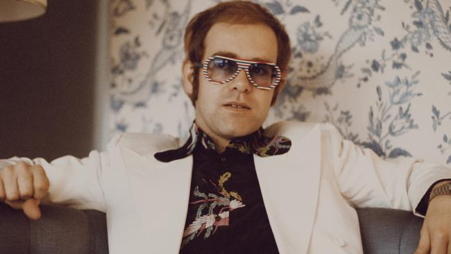 Elton John drug use and depression spiralled during the 70s.