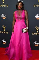 Viola Davis attends the 68th Annual Primetime Emmy Awards on September 18, 2016 in Los Angeles, California. Picture: AP