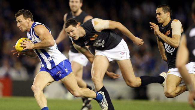 Will the Blues be able to catch Brent Harvey tonight?