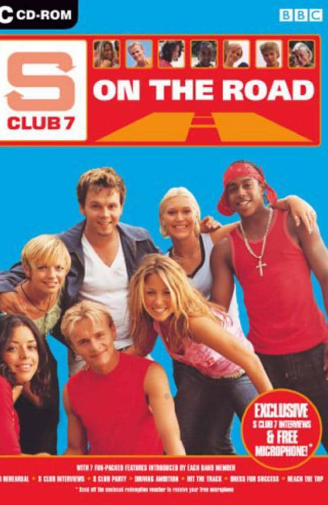There was even an S Club 7 video game. Seriously.
