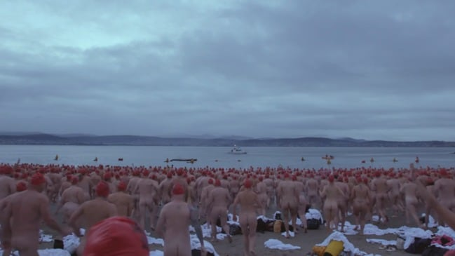 Dark Mofo 2019: Hundreds go nude for the annual solstice