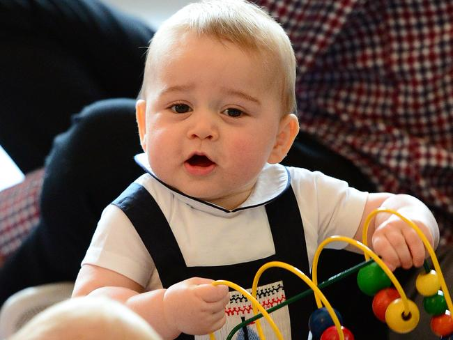 Birthday boy ... Prince George, who turns one next week, could have a brother or sister before his second birthday.