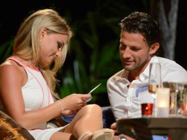 The couple find love on the dating show The Bachelor in 2013.