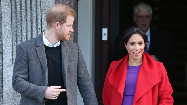 Prince Harry and Meghan Markle are getting a fairly good house-warming present from the Queen. Picture: Trevor Adams/matrixpictures.co.uk