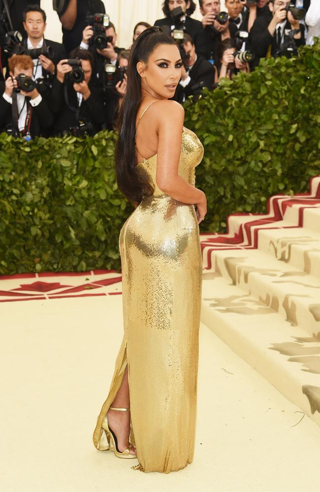 Kim Kardashian is one of the Gala's most famous guests in recent years. Picture: Jamie McCarthy/Getty Images