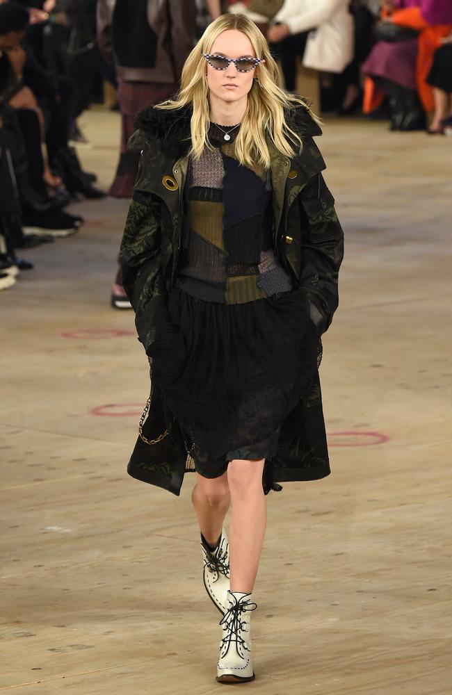 Back in black at Coach. Picture: Getty Images