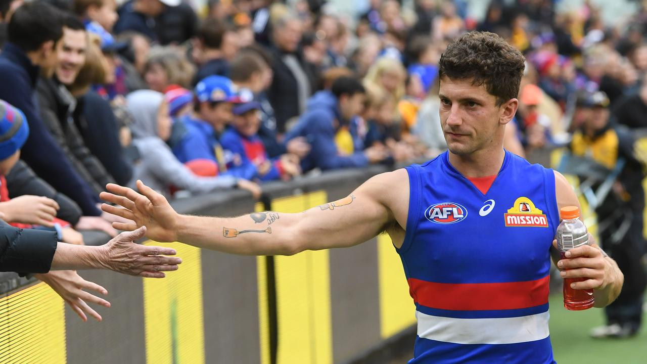 Tom Liberatore is back for the Bulldogs. Photo: Julian Smith/AAP Image.
