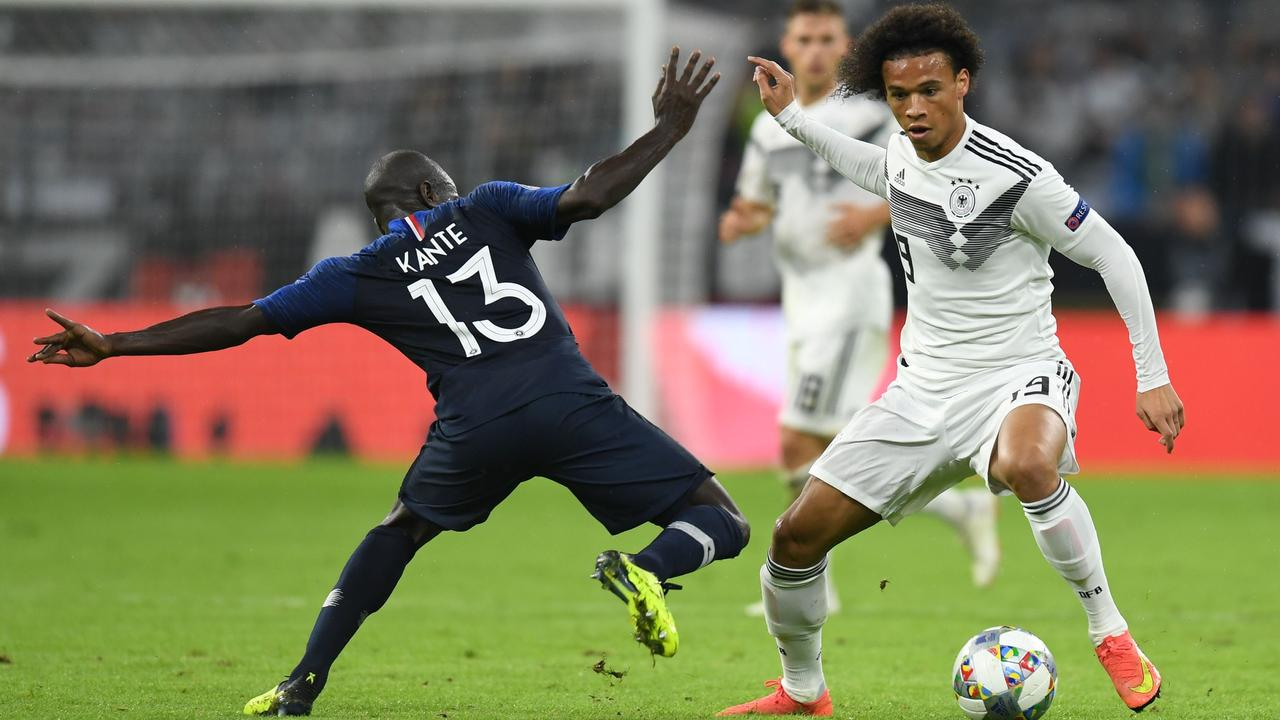 Sane was recently recalled for Germany's clash with France.