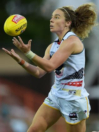 Jenna McCormick in action for Adelaide. Picture: Keri Megelus