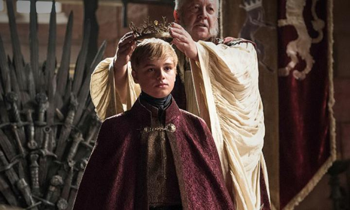 "TOMMEN. In Game of Thrones, Prince Tommen Baratheon is a sweet young boy who loves his kittens. His forename has an unusual but not-too-out-there feel thanks to its resemblance to Thomas.  <a href=""http://www.imdb.com/company/co0008693/?ref_=tt_dt_co"">Image: HBO</a>"