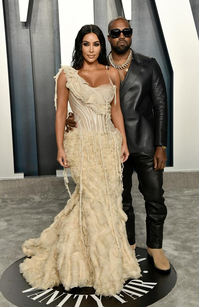 Kim and Kanye both made the list. Picture: Frazer Harrison/Getty Images
