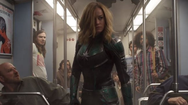 New Captain Marvel trailer drops