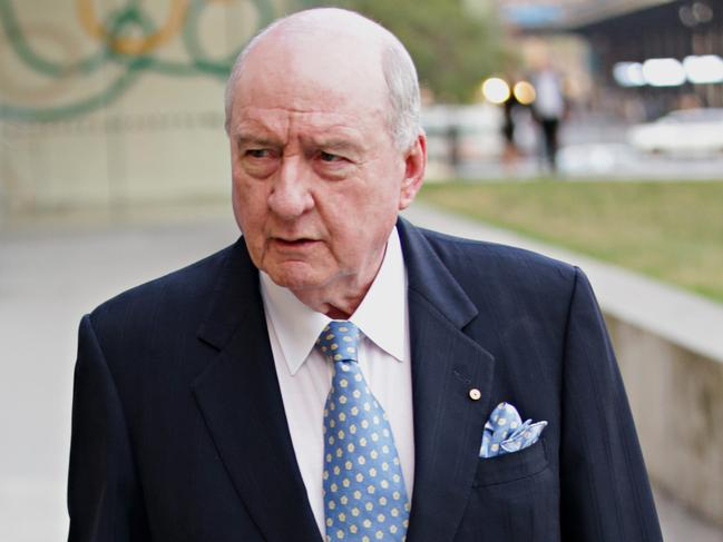 Alan Jones found himself in hot water with the Wagner brothers. Picture: Adam Yip